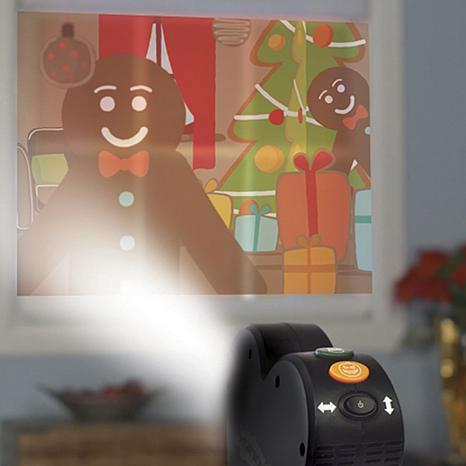 Window wonderland deluxe projector with 6 bonus videos for Window wonderland