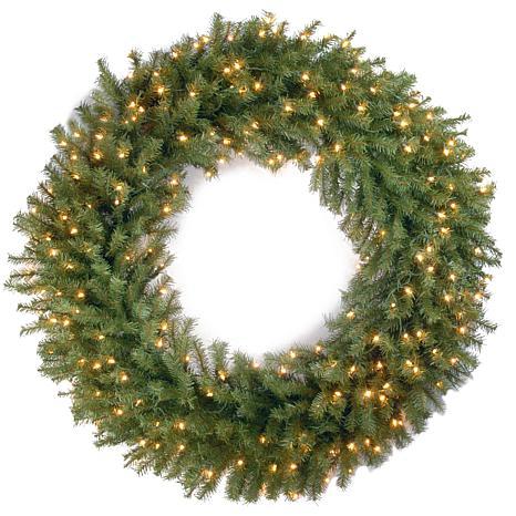"""Winter Lane 48"""" Norwood Fir Wreath w/Lights"""