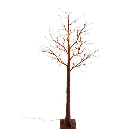 Winter Lane 6' Electric LED Lighted Tree - Bare Brown