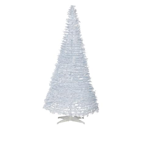 finest selection b9faa d4188 exclusive! Winter Lane 6' Pop-Up White Pine Pre-Lit Christmas Tree