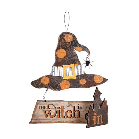 Witch Is In-Out Wall Plaque