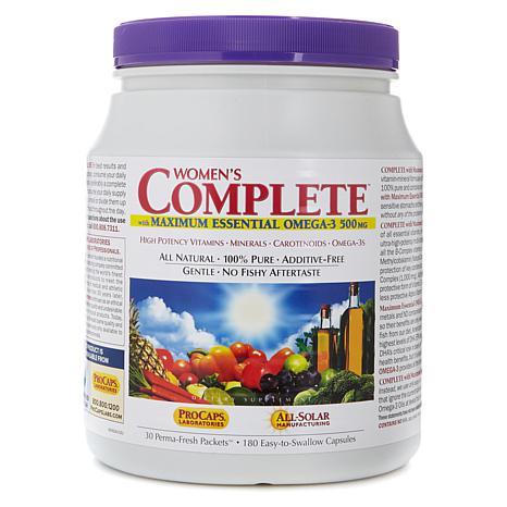 Women's COMPLETE w/Maximum Essential OMEGA-3-30 Pkts AS