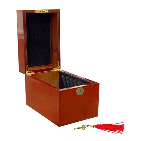 Wooden 5-Slab Display Box for 5 oz. Coins