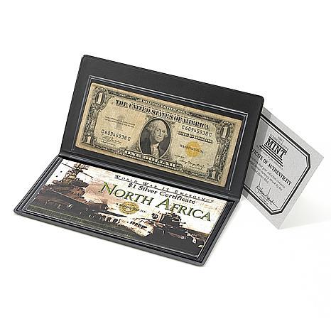 "World War II Yellow Seal ""North Africa"" $1 Bill"