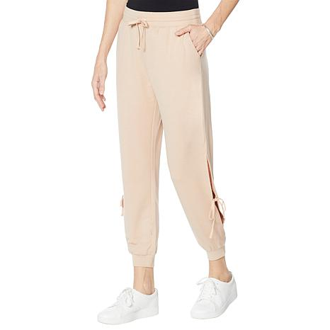 WVVY French Terry Side Tie Jogger Pant