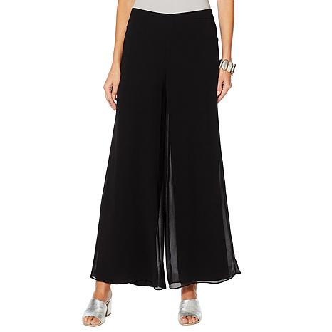 WynneLayers Chiffon Layered Palazzo Pant