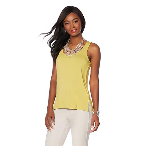 WynneLayers Essential 2-pack Fashion Colors Stretch Layering Tanks