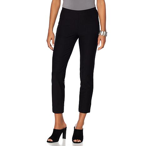 WynneLayers Knit Crepe Narrow-Leg Pant