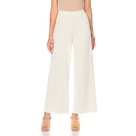 WynneLayers Washed Modal Wide-Leg Pant