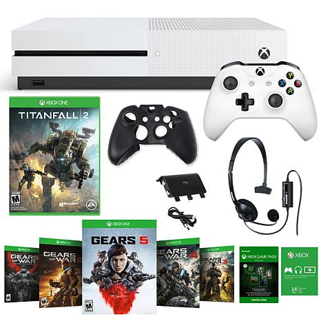 Xbox One S 1TB Gears 5 Console with Titanfall 2 and Accessories