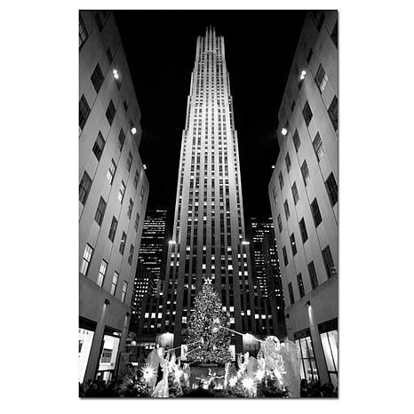 Yale Gurney 'Rockefeller Night' Giclee Wall Print
