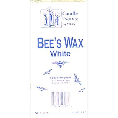 Yaley's White Beeswax 1-Pound Block