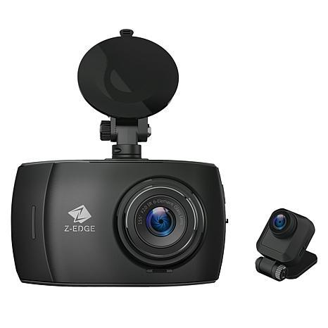 Z-Edge 4 Full HD Touch Screen Dual Lens Dash Cam
