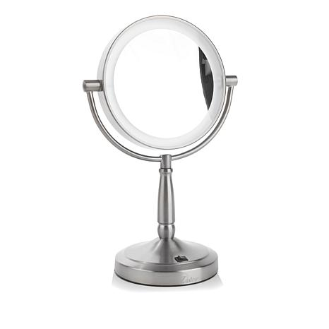 Zadro Cordless Dual-Sided LED Vanity Mirror - Chrome
