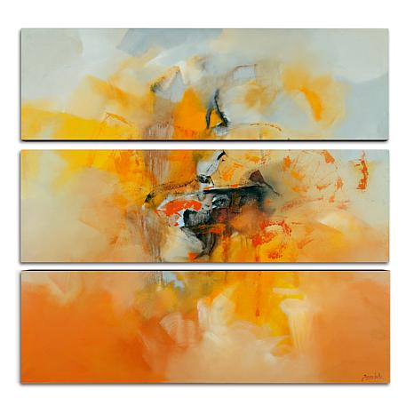 Zavaleta 'Abstract IV' Multi-Panel Art Collection