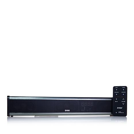 ZVOX AccuVoice TV Soundbar with 6 Level Dialogue Boost and Remote