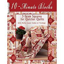 '10-Min Blocks: 3-Seam Squares for Quicker Quilts' Book