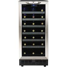13.3 Cu. Ft. 34-Bottle Built-In Wine Cooler - Black
