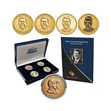 2016 Ronald Reagan Type Set, Replica Medal and Booklet