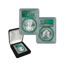 2017 MS70 PCGS Silver Eagle - Monster Box Green Label