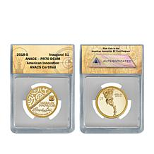 2018-S PR70 American Innovation Dollar Coin with Auto-Ship®