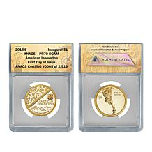 2018-S PR70 FDOI LE 2,919 American Innovation Coin with Auto-Ship®