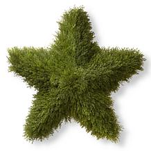 3' Artificial Topiary Juniper Star