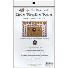 5in x 8in Circle Template Quilling Board