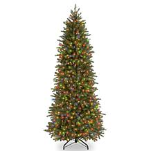 7-1/2' Jersey Fir Hinged Tree w/Lights