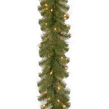 9'Battery-Operated N. Valley Garland