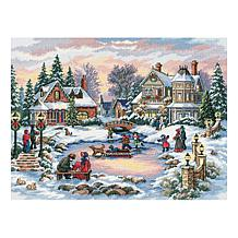 A Treasured Time Counted Cross-Stitch Kit