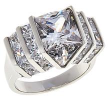 Absolute™ Cubic Zirconia Quadrillion-Cut Engagement Ring