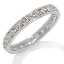 Absolute™ Round Prong-Set Eternity Band Ring