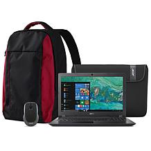 "Acer Aspire 3 15.6"" AMD 8GB/1TB Laptop Bundle w/Backpack & Voucher"