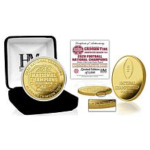 Alabama Crimson Tide 2020/21 Football Nationl Champions Gold Mint Coin