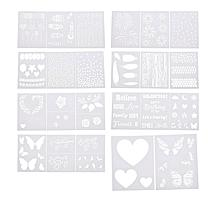 Aladine Every Day Layer Stencils - Set of 6