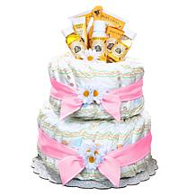 Alder Creek Girl's Burt's Bees Diaper Cake