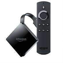 Amazon Fire TV 4K Ultra HD Media Streamer and Alexa Voice Remote