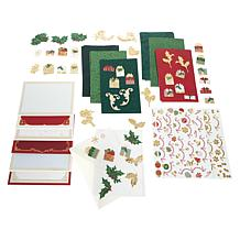 Anna Griffin® Christmas Tree Pop-Up Cards and Embellishments