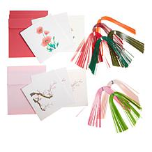Anna Griffin® Create-A-Quill DIY Quilling Card Kit Poppy/Cherry