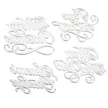 Anna Griffin® Hot Foil Holiday Sentiment Stamps