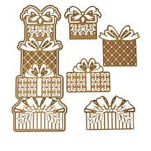 Anna Griffin® Winter Gifts Slimline Cutting Dies