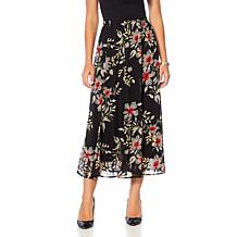 "Antthony ""Jewel of the Nile"" Printed Chiffon Skirt"