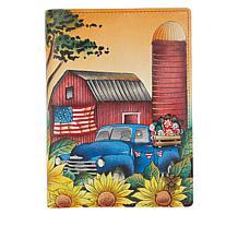 Anuschka Handpainted Leather Organizer Wallet