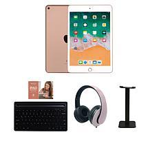 Apple iPad Mini 5 64GB Gold w/Bluetooth Keyboard and Voucher