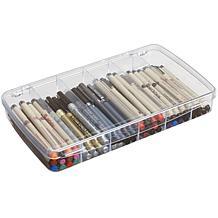 Art Bin Clear CompartmentStorage Box