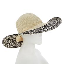 """""""As Is"""" Colleen Lopez Straw Sun Hat"""
