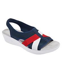 """""""As Is"""" easy spirit Maize Stretch Slingback Sandal"""
