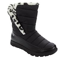 """""""As Is"""" Tony Little Cheeks® Fit Body Water-Repellent Puffer Boot"""
