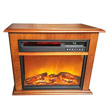 """As Is"" Warm Living Electric Fireplace Heater"